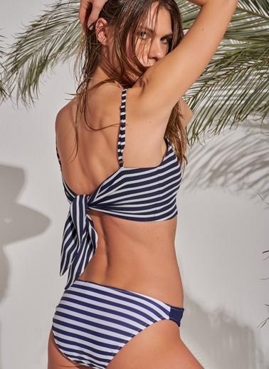 Morhipo Beach Askılı Bluz Lacivert